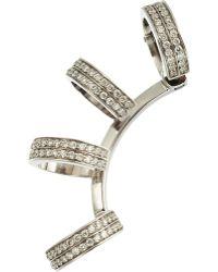 Repossi - Diamond 4 Row Berbère Earring - Lyst