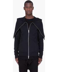 Gareth Pugh - Black Tube Collar Jacket - Lyst