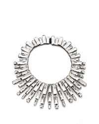 Noir Jewelry Nightfall Statement Collar - Lyst