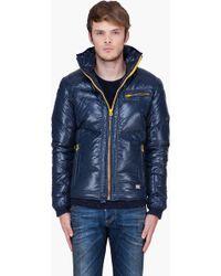 Diesel  Padded Hooded Weroxim Jacket - Lyst