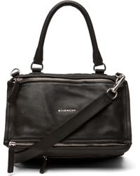 Givenchy Medium Pandora Handbag in Black black - Lyst
