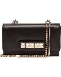 Valentino Va Va Voom Small Flap Bag in Black - Lyst