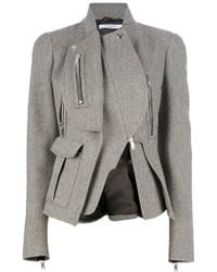 Givenchy Asymmetric Jacket - Lyst