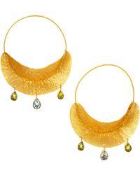Kevia - Pod Charm Earrings - Lyst