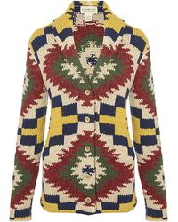 Denim & Supply Ralph Lauren - Chunky Knit Cardigan - Lyst