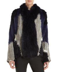 Elizabeth And James Kerri Fur Jacket - Lyst