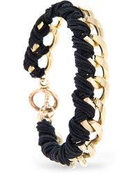 Mango Touch Braided Chain Bracelet - Lyst