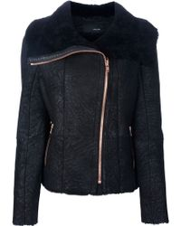 Avelon - Chaotic Leather Jacket - Lyst