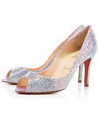 Christian Louboutin You You Strass - Lyst