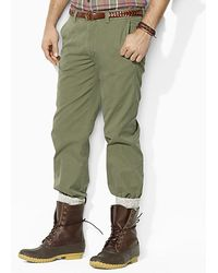 Ralph Lauren Polo Suffield Lightweight Military Chino Pant - Lyst