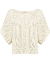 Denim & Supply Ralph Lauren - Cable Knit Jumper - Lyst