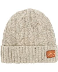 Edwin - Cable Beanie - Lyst 0794ef07fe47