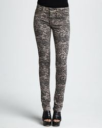 Joe's Jeans The Skinny Chantilly Lace Print - Lyst