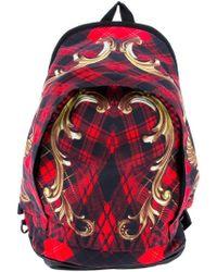 KTZ | Tartan Printed Backpack | Lyst