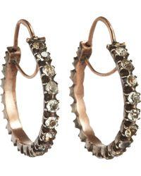Olivia Collings Paste Hoop Earrings