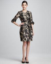 Bigio Collection - Floralprint Dress - Lyst