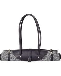 Calabrese Bags - Grey Rotolo Tweed Tote Bag - Lyst