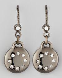 Dominique Cohen - Noir Pave Diamond Drop Earrings - Lyst