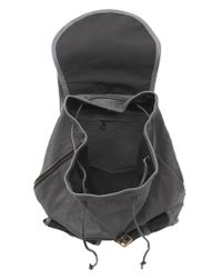 Jas MB - Grey Bomber Leather and Calf Hair Rucksack - Lyst