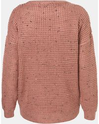 Topshop Speckled Sweater - Lyst