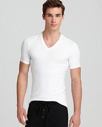 Calvin Klein Pro Stretch Vneck Undershirt - Lyst