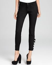 J Brand Jeans Mara Skinny with Buckles - Lyst