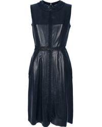 Valentino Sleeveless Dress black - Lyst
