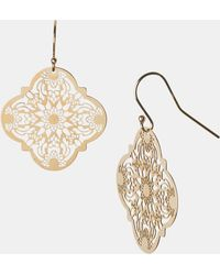 Argento Vivo Mini Drop Earrings - Lyst