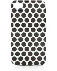 Juicy Couture - Talk Is Chic Polka Dot Iphone Case - Lyst