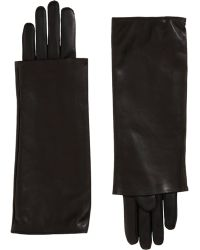 Nina Ricci - Long Layered Cuff Gloves - Lyst