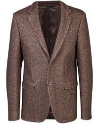 Calvin Klein Sport Coat brown - Lyst