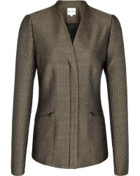 Reiss Structured Blazer - Lyst