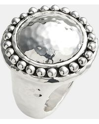 Simon Sebbag Prosecco Hammered Round Ring - Lyst