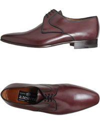 A.testoni Laceup Shoes - Lyst