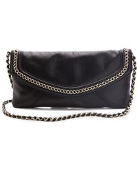 Juicy Couture - Tough Girl Leather Envelope Clutch - Lyst