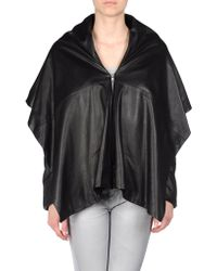 Maison Margiela Leather Outerwear - Lyst