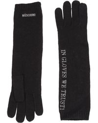 Moschino Gloves - Lyst