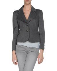 Moschino Cheap & Chic Blazer gray - Lyst