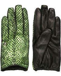 Nina Peter - Rita Laminated Salmon Skin Gloves - Lyst