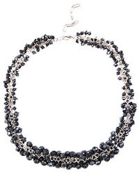Minuet Petite - Navy Cluster Necklace - Lyst