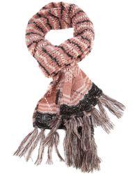 Missoni Crochet Knit Scarf - Lyst