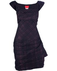 Vivienne Westwood Red Label Checked Dress - Lyst
