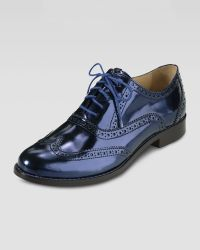 Cole Haan Skylar Laceup Oxford - Lyst