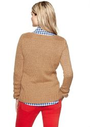 Gap Essential Scoop Sweater - Lyst
