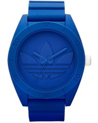 Adidas  Santiago Unisex Watch blue - Lyst