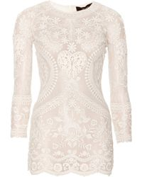 Isabel Marant Dayton Embroidered Top - Lyst