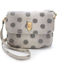 Marc By Marc Jacobs - Embossed Lizzie Dots Cross Body Bag - Lyst