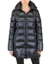 Tatras - Sarin Hooded Shiny Nylon Down Jacket - Lyst