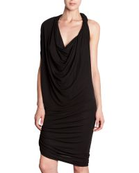 Lanvin Twist Dress - Lyst