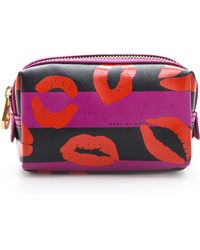 Marc By Marc Jacobs Eazy Pouch Makeup Cosmetic Case - Lyst